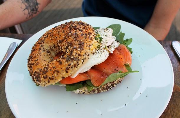 Found Chapel Street Melbourne, brunch, salmon bagel