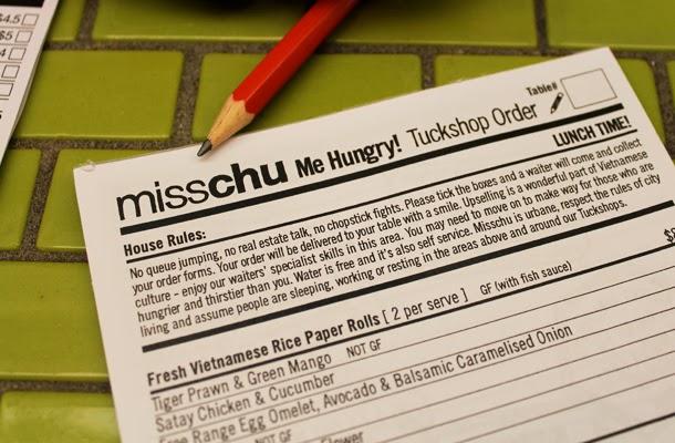 Misschu, Vietnamese tuckshop