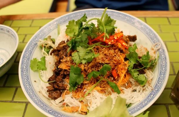 Misschu, Vietnamese beef noodle salad