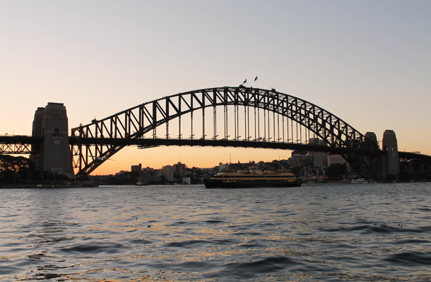 Sweet Monday, Sydney Harbour Bridge