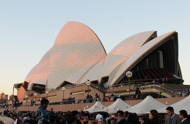 Sweet Monday, Sydney Opera House
