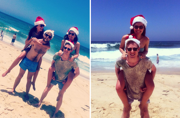 Sweet Monday, Christmas down under, Christmas in Sydney, Tamarama Beach