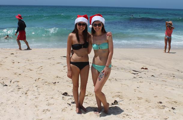 Sweet Monday, Christmas down under, Christmas in Sydney, Tamarama Beach