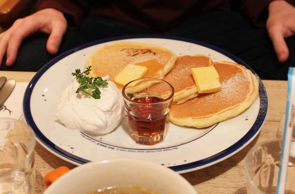 Elk, Elk pancakes, Japanese pancakes, Kyoto, Japan