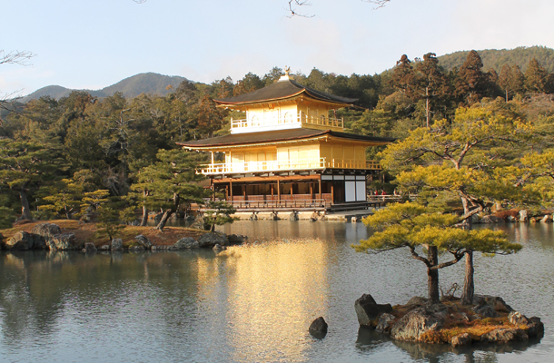 Kyoto, Japan, Golden Temple, Kinkaku-ji Temple