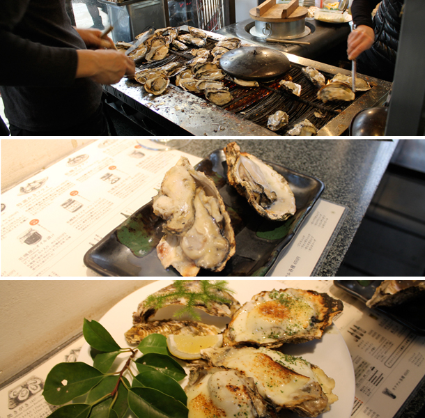 Japan food diary, things to eat in Japan, Mijajima, oysters, kaki-ya