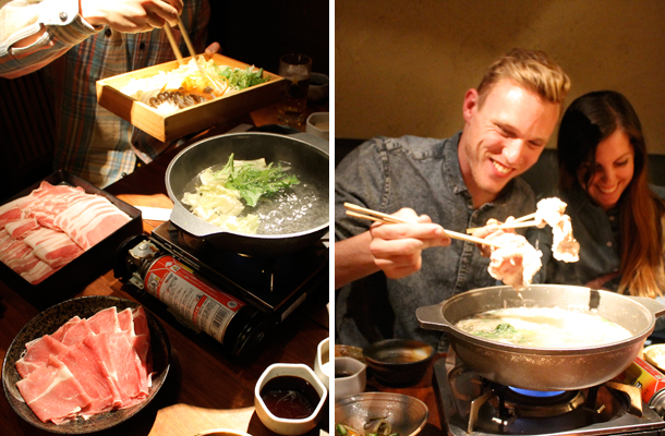 Japan food diary, things to eat in Japan, Shabu shabu, Tokyo