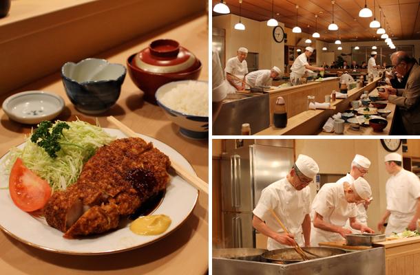 Japan food diary, things to eat in Japan, Tonki, Tonkatsu, Meguro, Tokyo