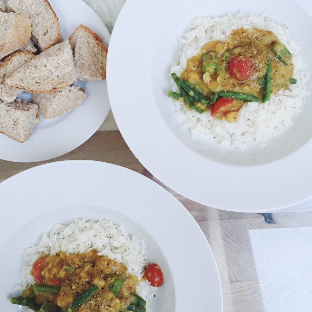 Sweet Monday recipes, Chana Masala