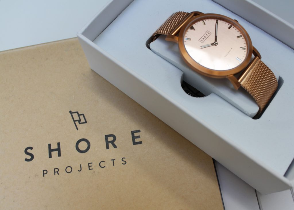 Shore Projects project 2, Salcome rose gold watch