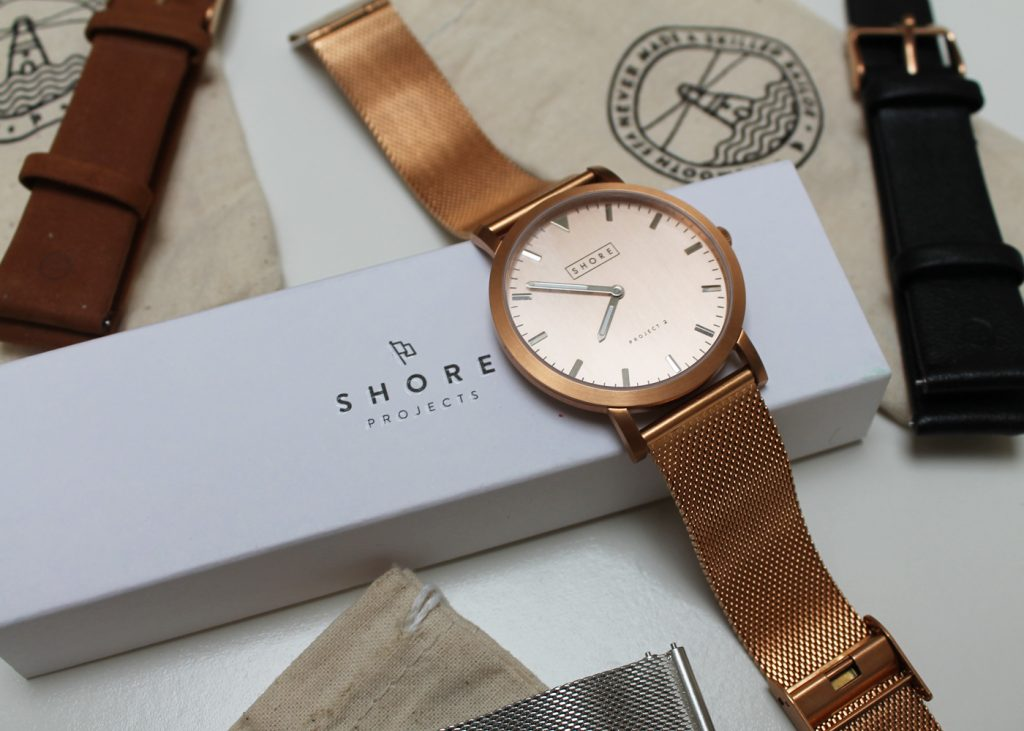 Shore Projects, leather watch strap, suede watch strap, mesh watch strap