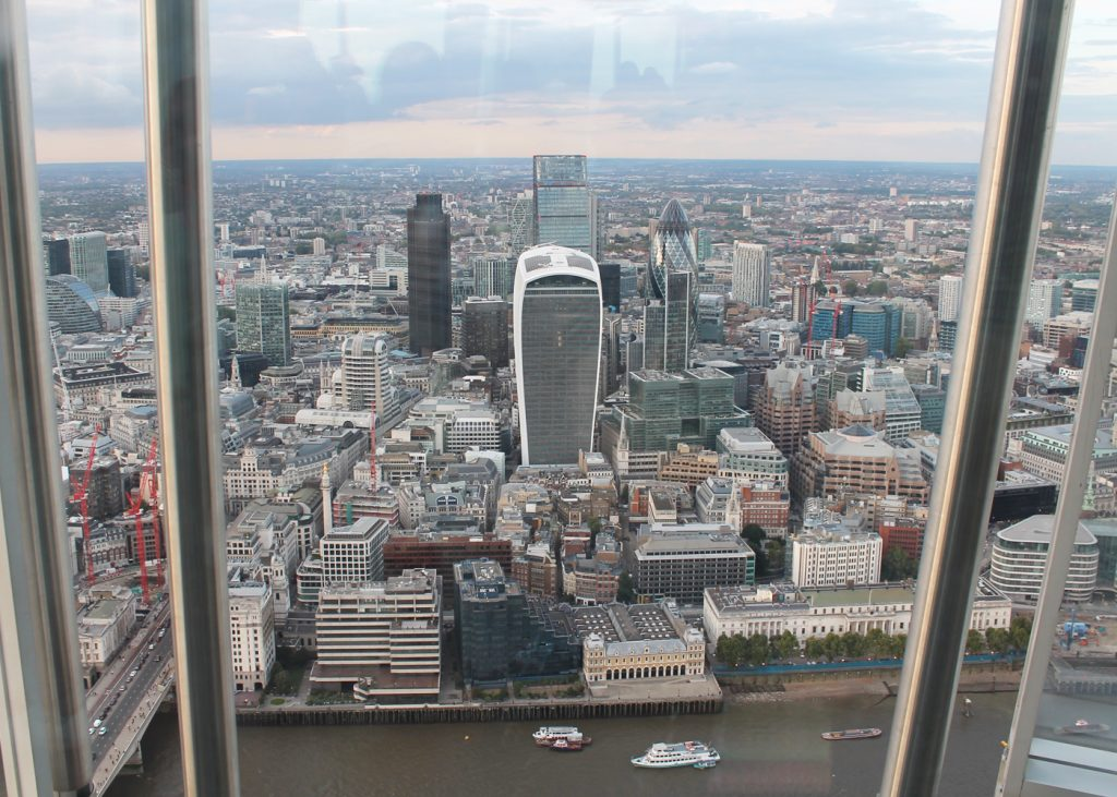Sweet Monday, The view from The Shard