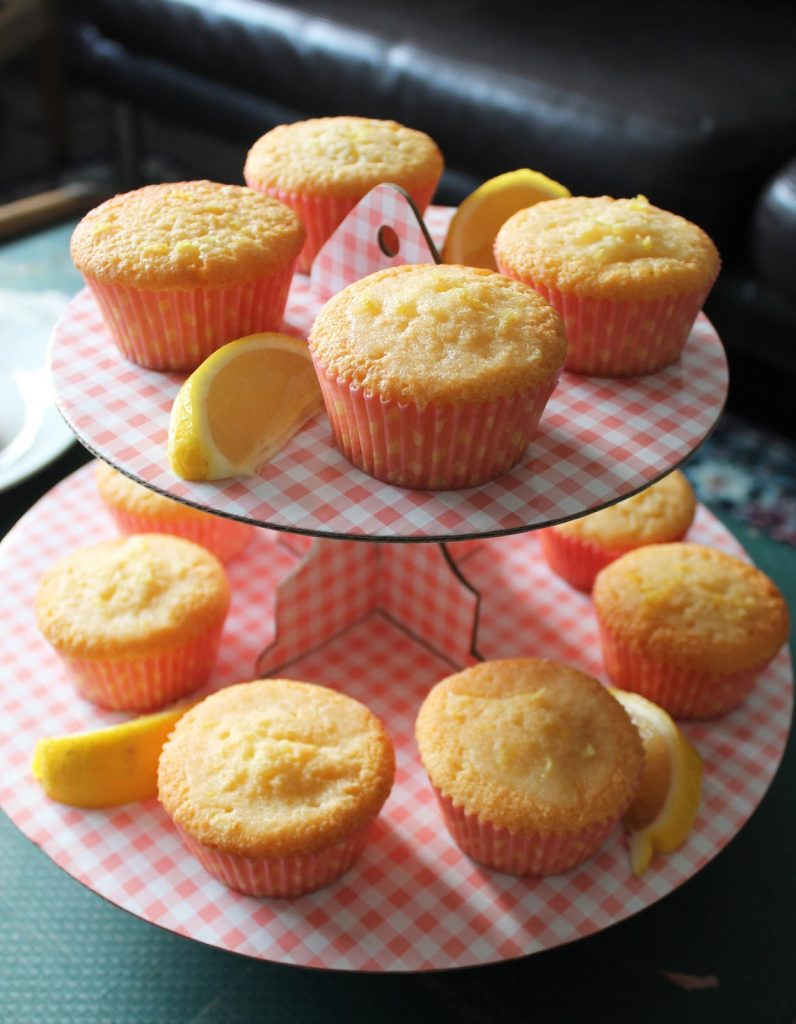 Sweet Monday recipes, Great British Bake Off, GBBO, Lemon Drizzle Cupcakes