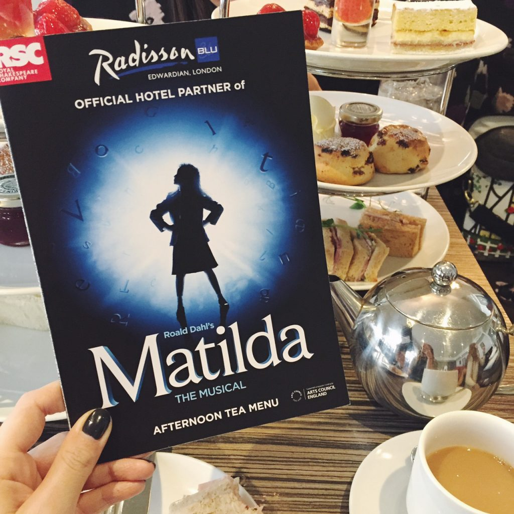 Matilda afternoon tea