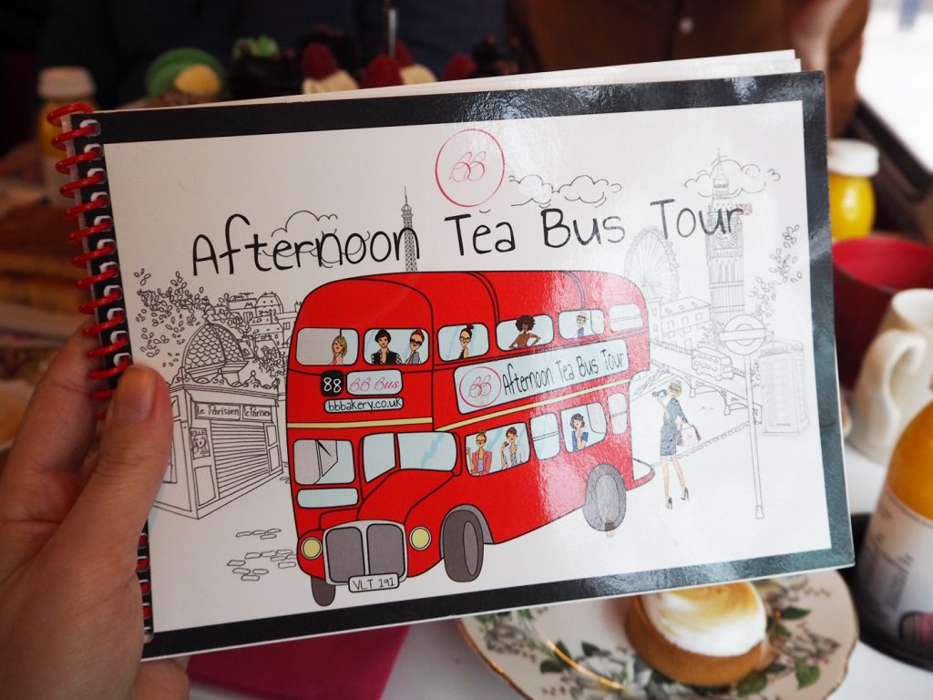 Unique afternoon tea in London