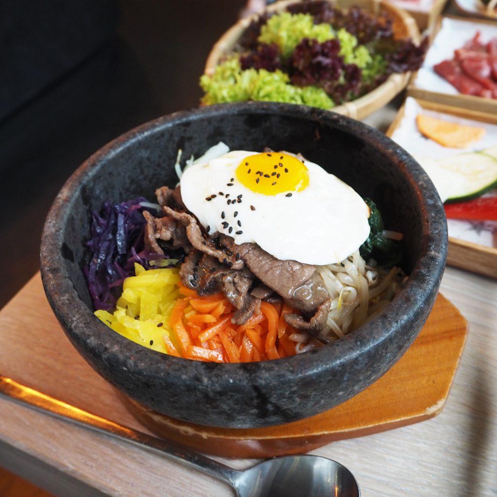 Korean restaurant London