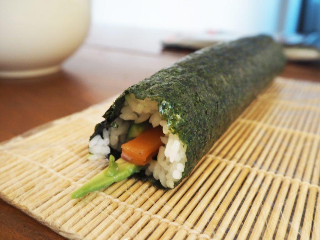 Sushi making at home