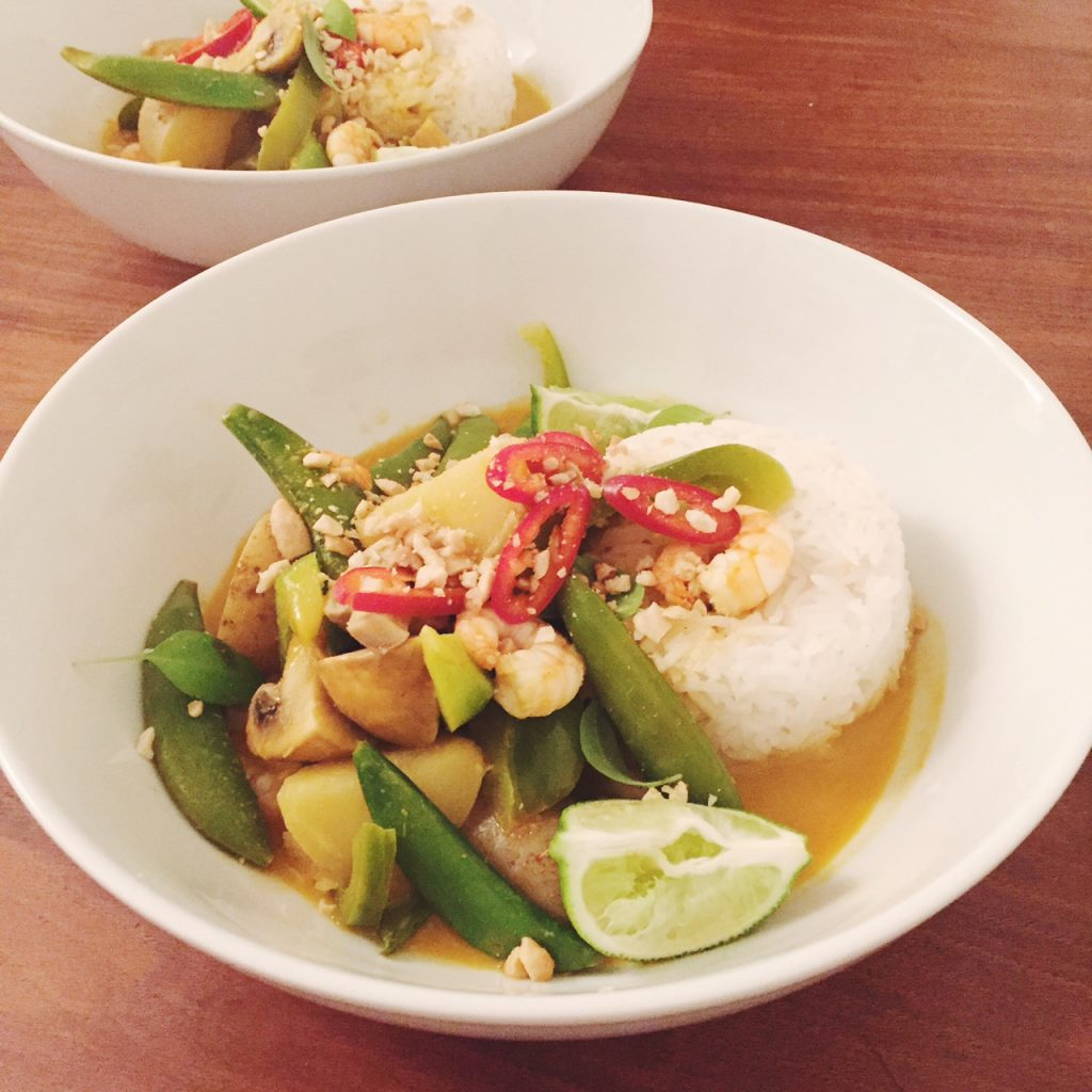 Prawn curry recipe