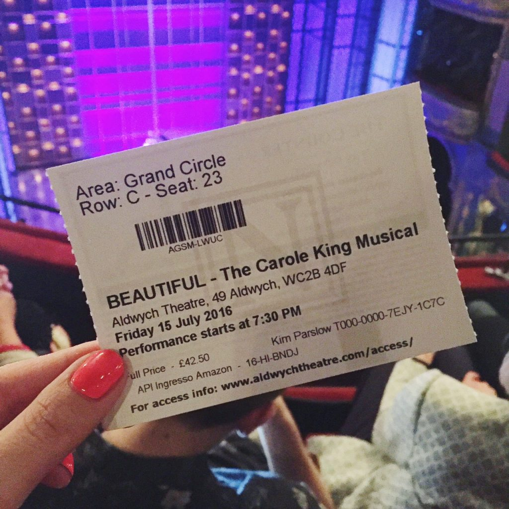 Beautiful The Carole King Musical, Aldwych Theatre