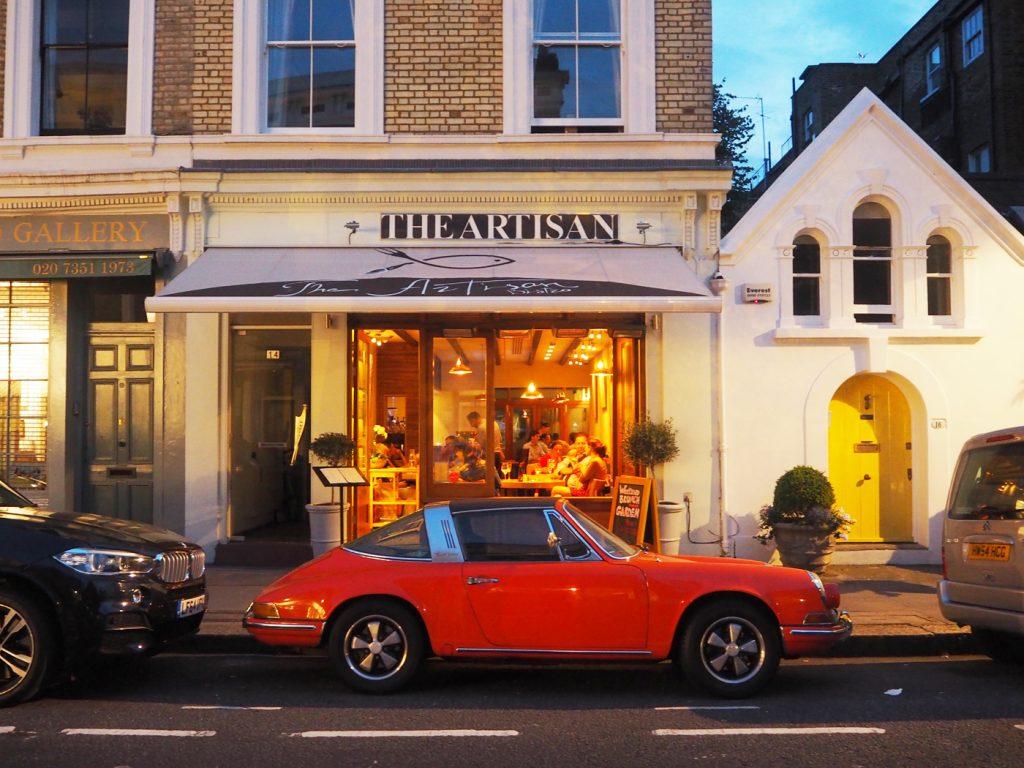 The Artisan Bistro, Chelsea, London