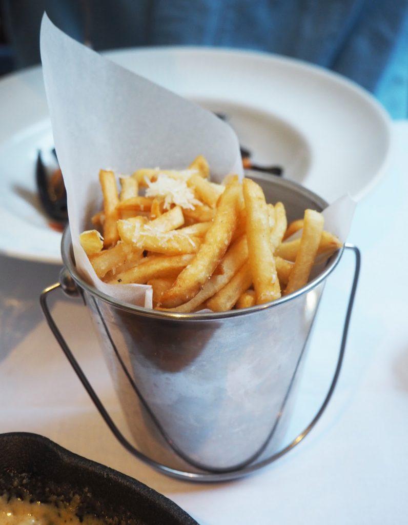 The Artisan Bistro Chelsea, truffle fries