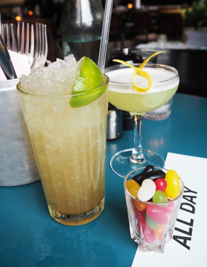 Coin Laundry cocktails