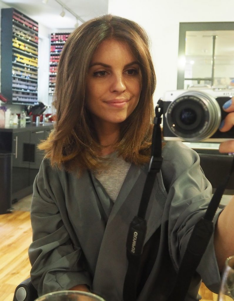 Kell Skott blow dry, Notting Hill