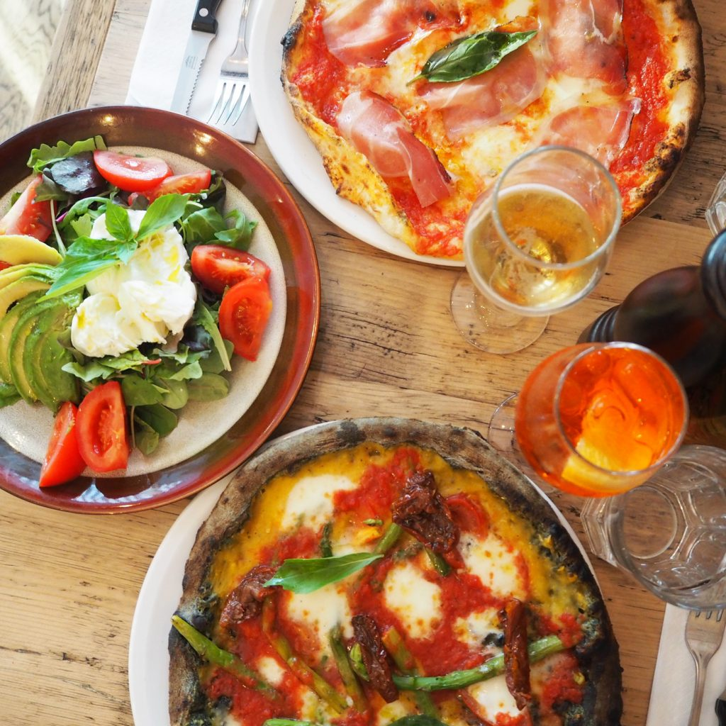 Zia Lucia, pizza in Holloway