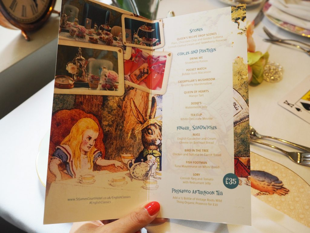 Alice In Wonderland Themed Afternoon Tea Review London