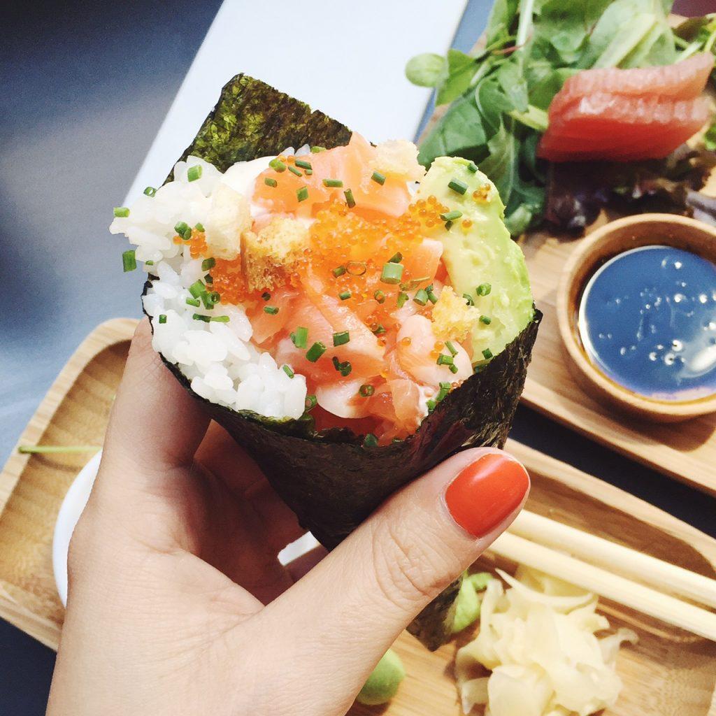 Sushi on Lexington Street Soho