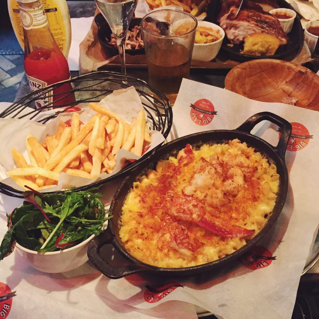 Big Easy lobster mac n cheese