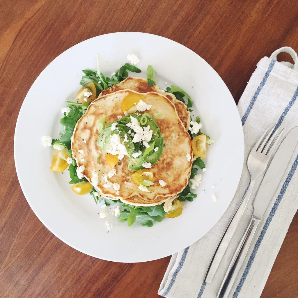 Savoury pancake recipe