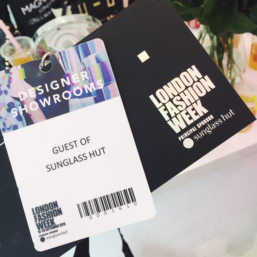 London Fashion Week Sunglass Hut