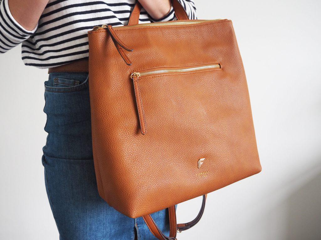 Fiorelli tan backpack