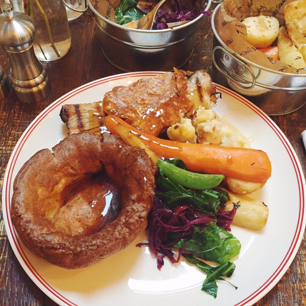 Sunday roast South London