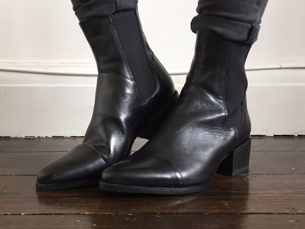 Vagabond leather ankle boots