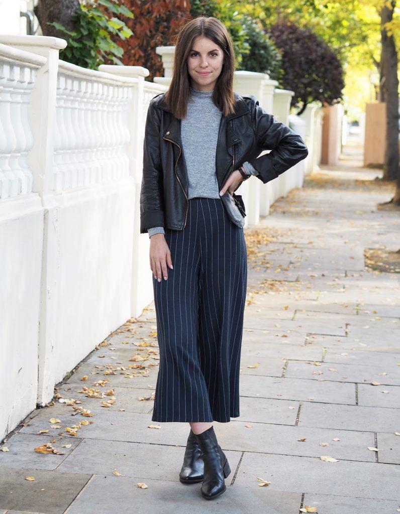 Sweet Monday pinstripe culottes