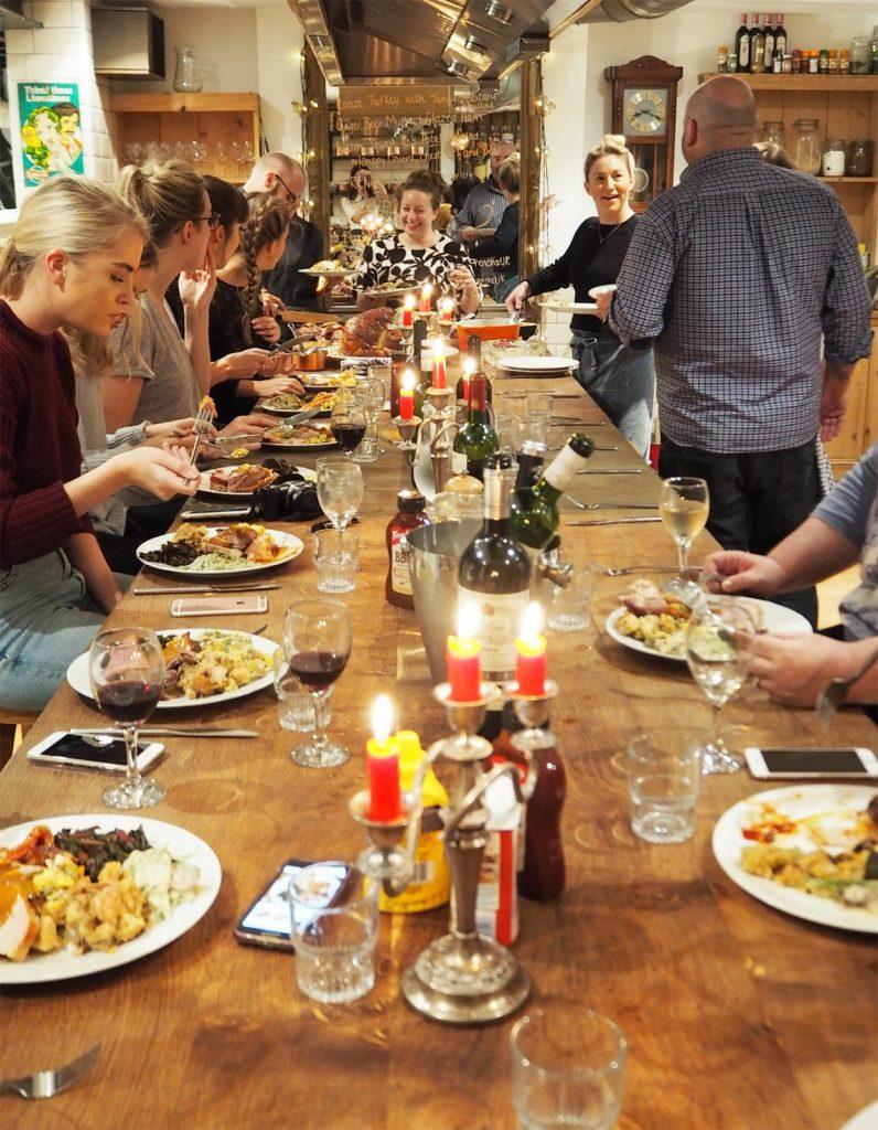 Thanksgiving dinner with Brad McDonald