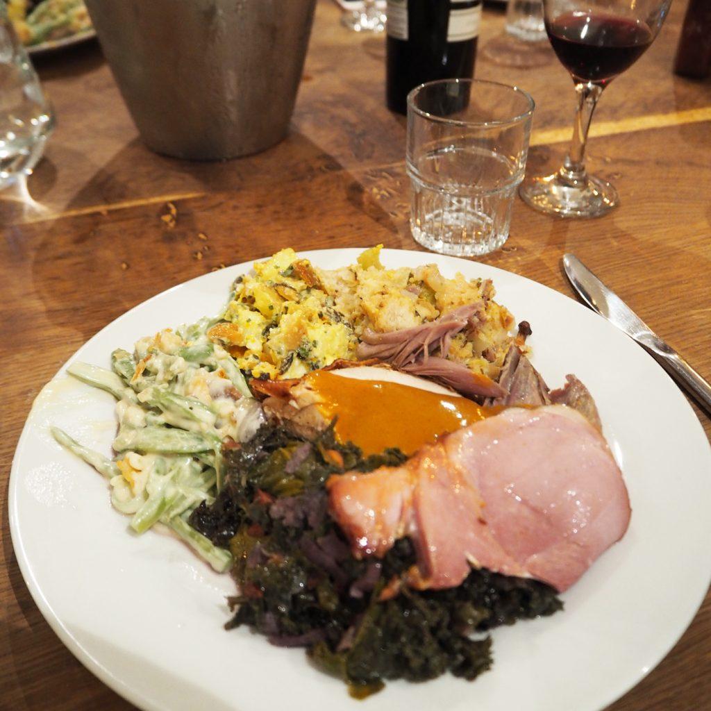 Brad McDonald Thanksgiving dinner