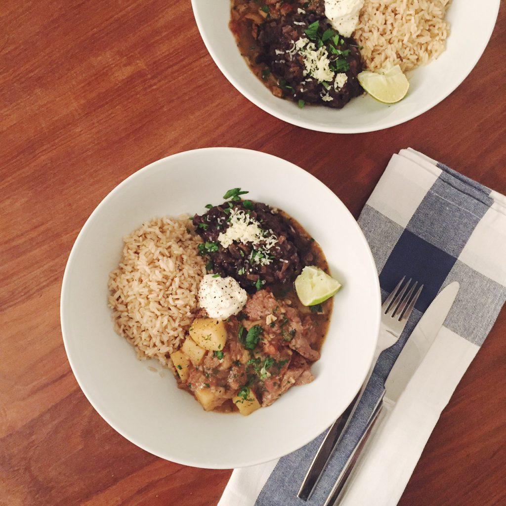 Peruvian lamb recipe