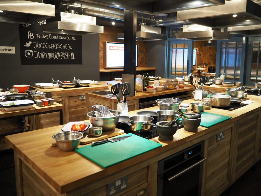 Jamie Oliver Cookery School Hammersmith