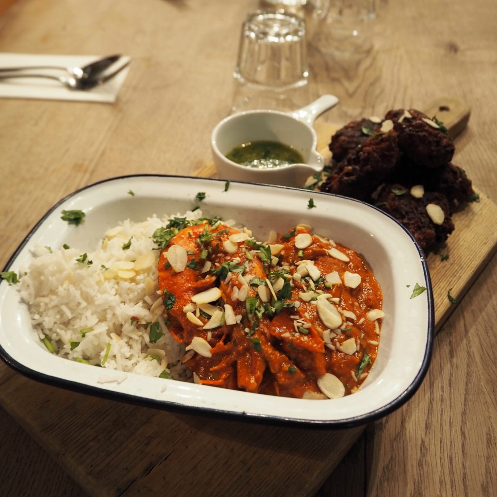 Jamie Oliver Cookery School, South Indian prawn curry