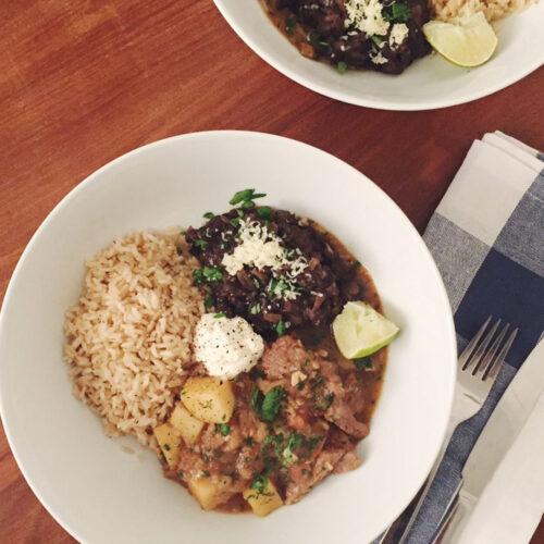 Peruvian Lamb Stew
