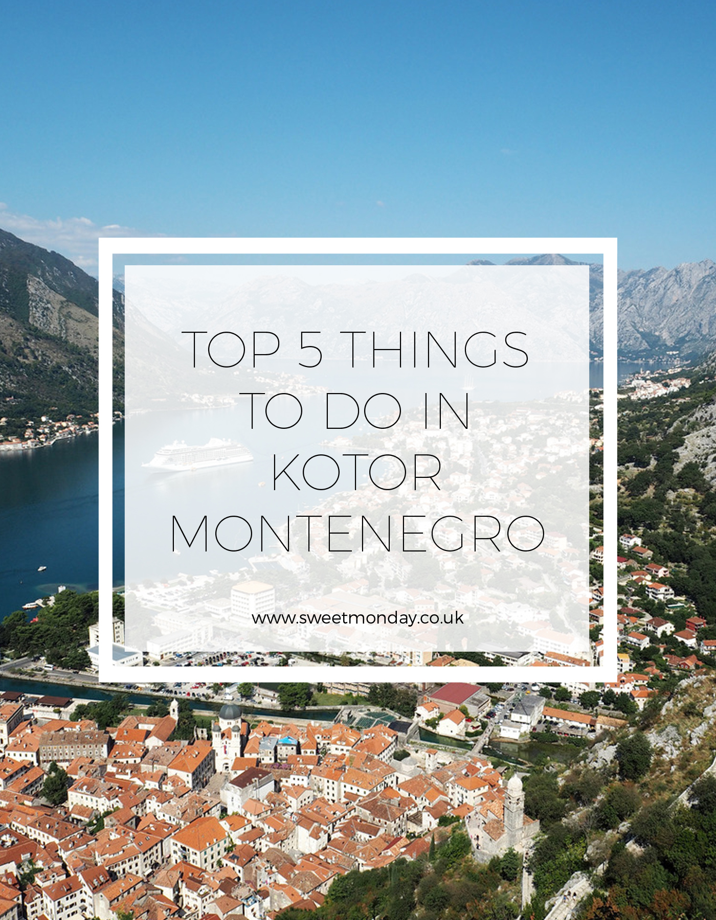 5 things to do in Kotor