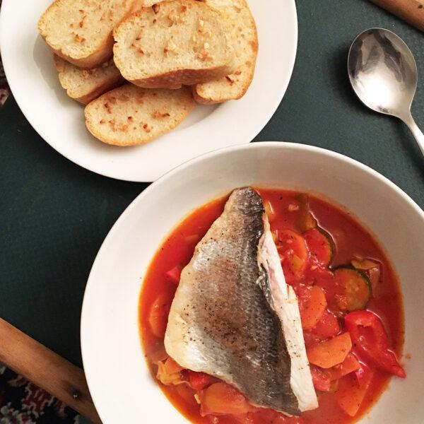 Sea Bream Stew