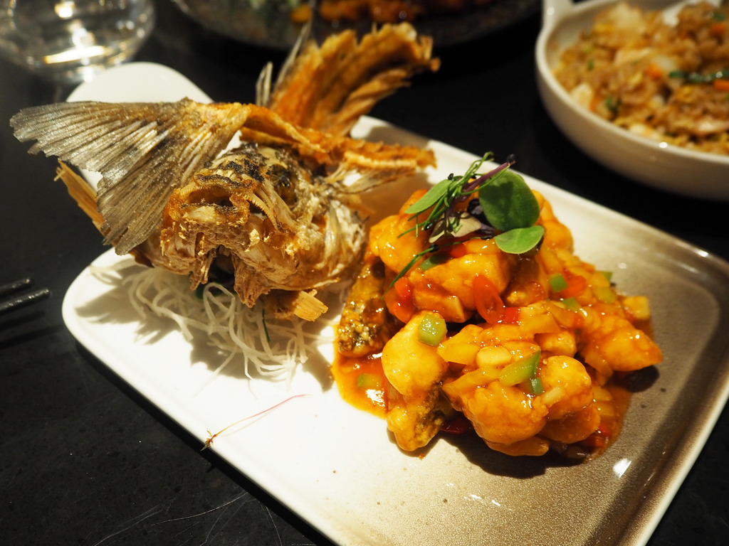 Chai Wu sweet and sour seabass