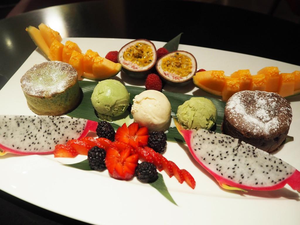 Chai Wu dessert platter
