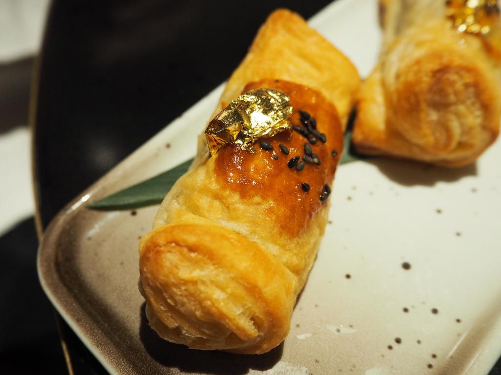 Chai Wu wagyu beef puff pastries