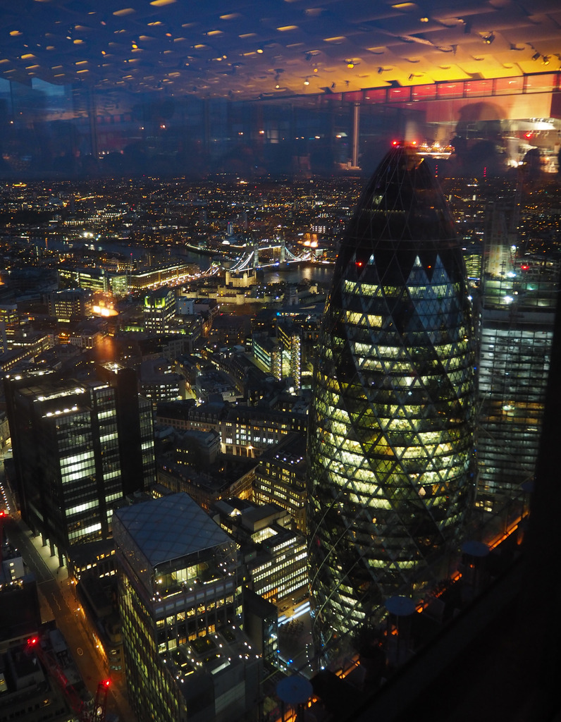 View from The Duck & Waffle
