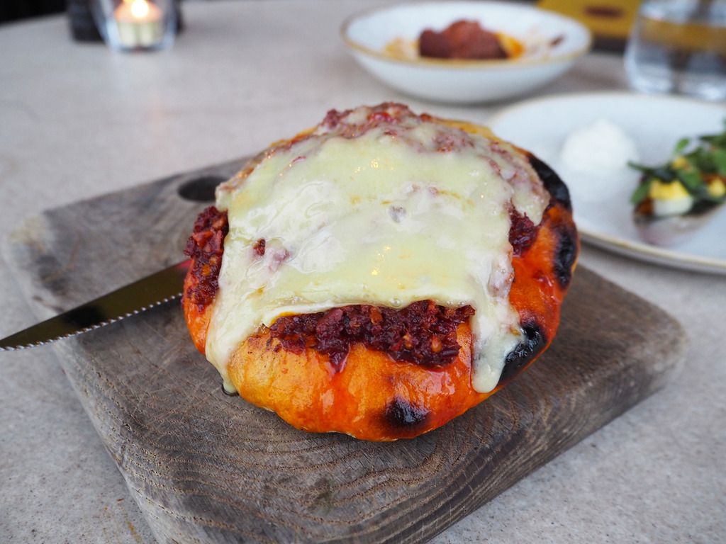 Duck and Waffle bread